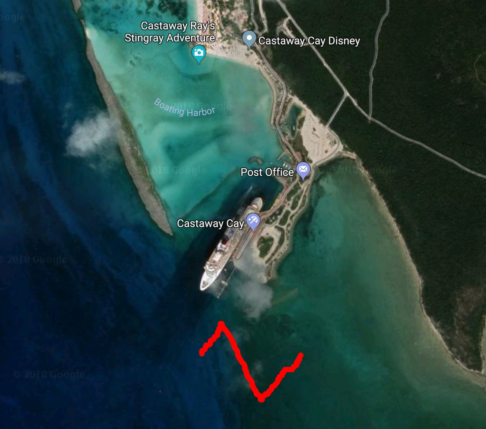 Fixing Castaway Cay port access for ships | The DIS Disney ... on great stirrup cay map, downtown disney, green turtle cay map, cozumel map, miami map, adventures by disney, disney's hollywood studios map, disney cruise line terminal, epcot map, disney wonder, norman's cay map, coco cay map, pillar point half moon bay map, private island map, disney's vero beach resort map, harbour island map, new providence, lyford cay map, private island, musha cay, disney cruise line, walt disney parks and resorts, nassau map, green turtle cay, cay sal map, disney dream, paradise island, hong kong disneyland resort, karl holz, disney's animal kingdom map, cay islands map, disney's river country map, downtown disney map, disney magic, shanghai disney resort, dubai map,